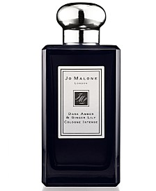 Jo Malone London Dark Amber & Ginger Lily Cologne Intense, 3.4-oz.