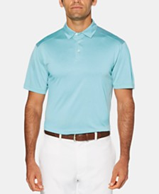PGA TOUR Men's Big & Tall Striped Golf Polo