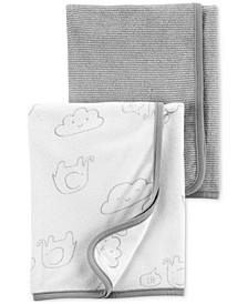 Baby Boys or Girls 2-Pk. Terry Bath Towels