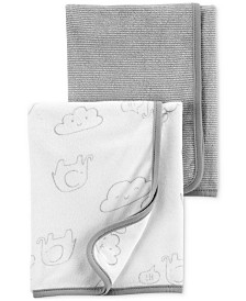 Carter's Baby Boys or Girls 2-Pk. Terry Bath Towels