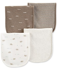 Carter's Baby Boys or Girls 4-Pk. Burp Cloths