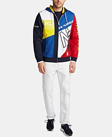 Men's Artist Series Blue Sail Full-Zip Hoodie, Created for Macy's