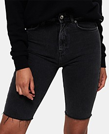 Kari Longline Denim Shorts