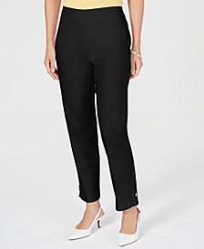 Petite Ankle-Tab Pants, Created for Macy's