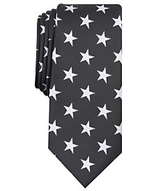 I.N.C. Men's Star Spangled Graphic Tie, Created for Macy's