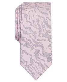 INC Men's Grant Zebra Abstract Skinny Tie, Created for Macy's