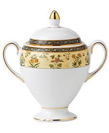 Wedgwood India Globe Sugar Bowl