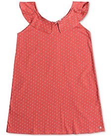 Roxy Big Girls Dot-Print Cotton Top