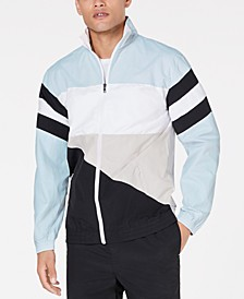 Men's Woven Colorblocked Jacket, Created for Macy's