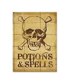 """Stephanie Marrott 'Potions & Spells' Canvas Art - 14"""" x 19"""""""