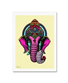 "Mark Ashkenazi 'India' Canvas Art - 14"" x 19"""