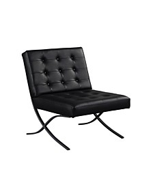 Relax A Lounger Earth Bonded Leather Chair
