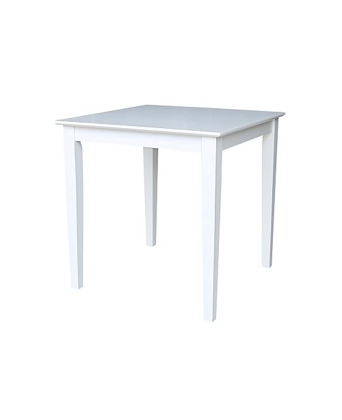 WHITEWOOD INDUSTRIES/INTNL CONCEPTS International Concepts Solid Wood Top Table - Dining Height
