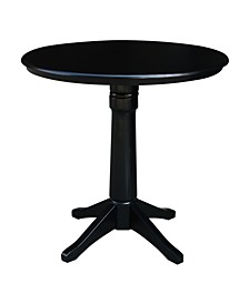 "International Concepts 36"" Round Top Pedestal Table - 34.9""H"