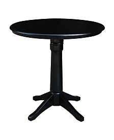 """International Concepts 36"""" Round Top Pedestal Table - 34.9""""H"""