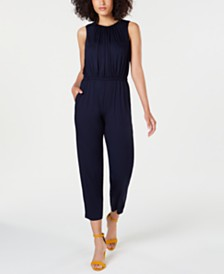 Trina Turk Sleeveless Cropped Jumpsuit