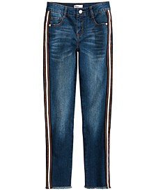 Little Girls Side Stripe Jeans, Created for Macy's