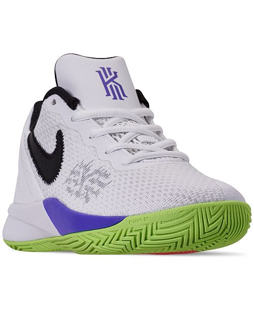 check out 8d383 612fe Nike Little Boys  Kyrie Flytrap II Basketball Sneakers from Finish ...