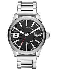 Diesel Men's Rasp Stainless Steel Bracelet Watch 46mm