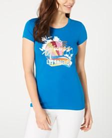 GUESS Glitter LA-Graphic T-Shirt