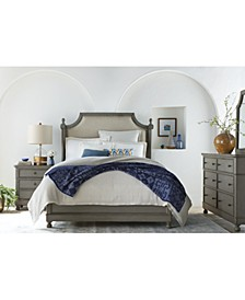 Bella Bedroom 3-Pc Set (Upholstered Queen Bed, Nightstand & Dresser), Created for Macy's