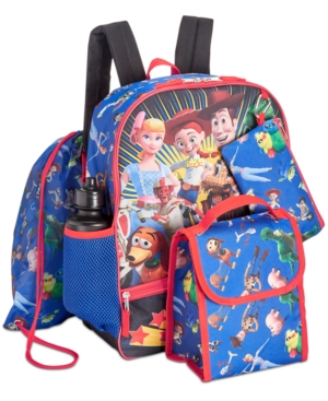 Image of Accessory Innovations Little & Big Boys 5-Pc. Toy Story Graphic Backpack Set