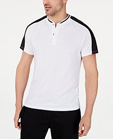 INC Men's Perforated Polo, Created for Macy's