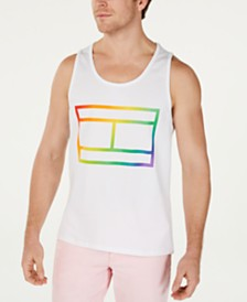 Tommy Hilfiger Men's Pride Graphic Tank Top