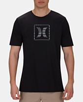 1bae13657 Hurley Men s Stars   Stripes Graphic T-Shirt