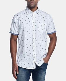 Weatherproof Vintage Men's Micro-Floral Shirt