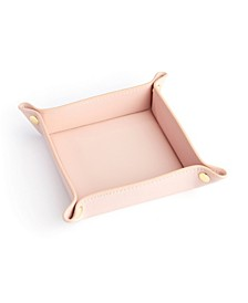 Leather Catchall Snap Valet Tray