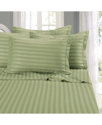 Elegant Comfort 4Piece Sheet Set Microfiber Wrinkle Resistant Full GREEN NEW
