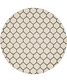 """Arbor Arb1 Beige/Gray 12' 2"""" x 12' 2"""" Round Area Rug"""