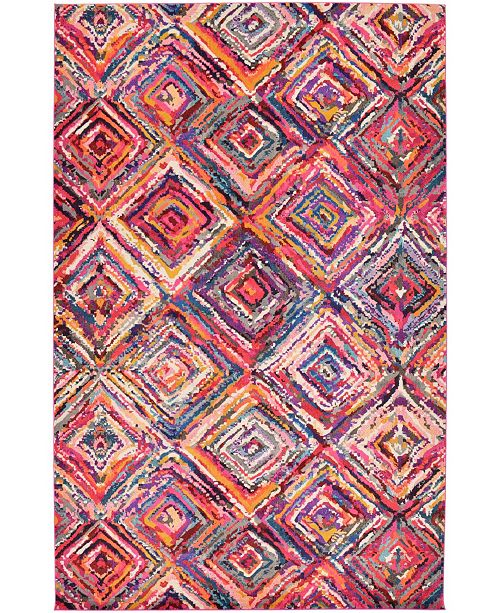 "Bridgeport Home Newwolf New1 Multi 10' 6"" x 16' 5"" Area Rug"