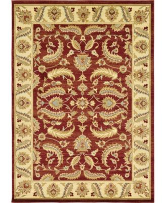 Passage Psg1 Red 7' x 10' Area Rug