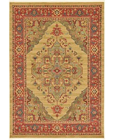 Bridgeport Home Harik Har9 Tan 7' x 10' Area Rug