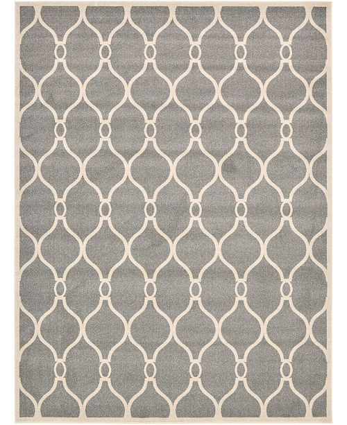 Bridgeport Home Arbor Arb6 Gray 9' x 12' Area Rug
