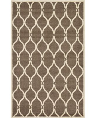 Arbor Arb6 Brown 5' x 8' Area Rug