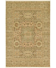 Bridgeport Home Wilder Wld1 Light Green 6' x 9' Area Rug