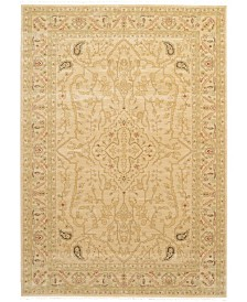 Bridgeport Home Orwyn Orw7 Beige 7' x 10' Area Rug