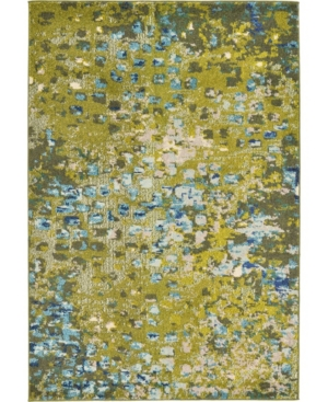 Bridgeport Home Adah Ada1 Green 4' x 6' Area Rug