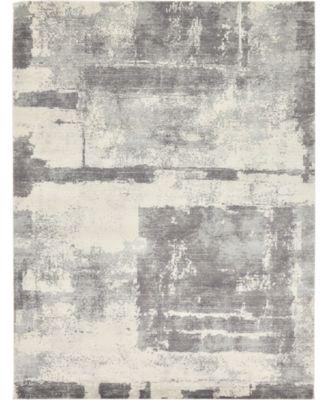 Wisdom Wis4 Gray 9' x 12' Area Rug