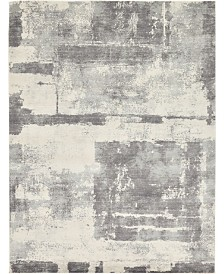 Bridgeport Home Wisdom Wis4 Gray 9' x 12' Area Rug