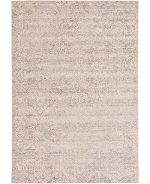 Bridgeport Home Caan Can5 Taupe 7' x 10' Area Rug