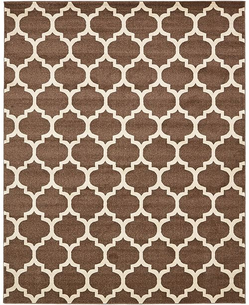 Bridgeport Home Arbor Arb1 Light Brown 8' x 10' Area Rug