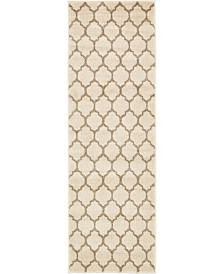 Bridgeport Home Arbor Arb1 Beige/Tan 2' x 6' Runner Area Rug