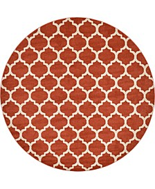 Arbor Arb1 Light Terracotta 10' x 10' Round Area Rug