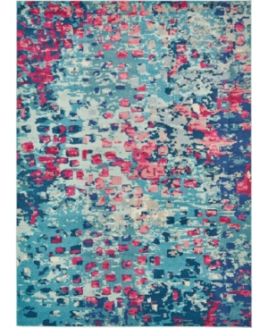 Bridgeport Home Adah Ada1 Blue 8' x 11' Area Rug