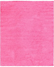 Bridgeport Home Exact Shag Exs1 Taffy Pink 12' x 15' Area Rug