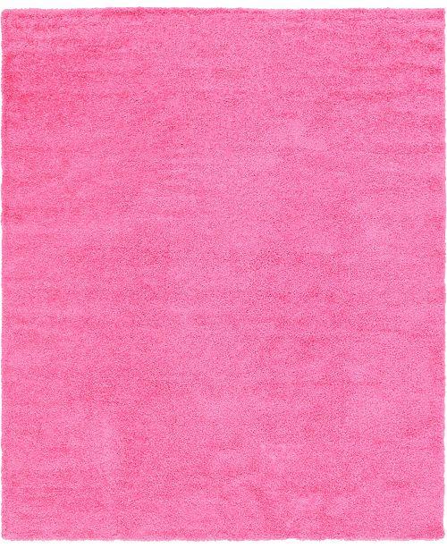 Bridgeport Home Exact Shag Exs1 Taffy Pink 12' x 15' Area Rug